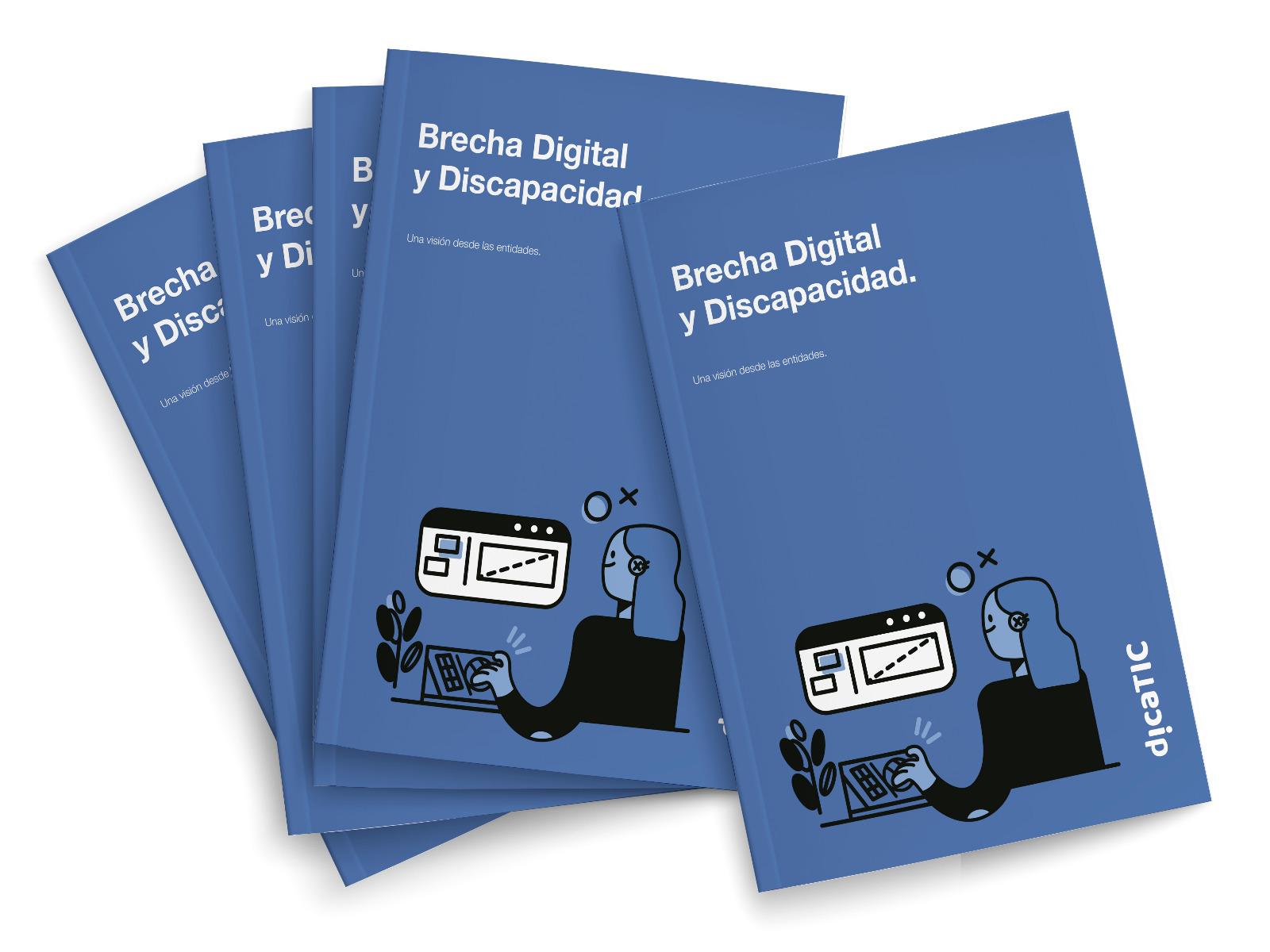 Portada del primer estudio de la Cátedra Dicatic sobre Brecha Digital y Discapacidad